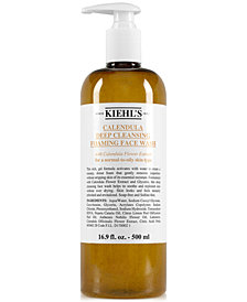 Kiehl's Since 1851 Calendula Deep Cleansing Foaming Face Wash, 16.9-oz.