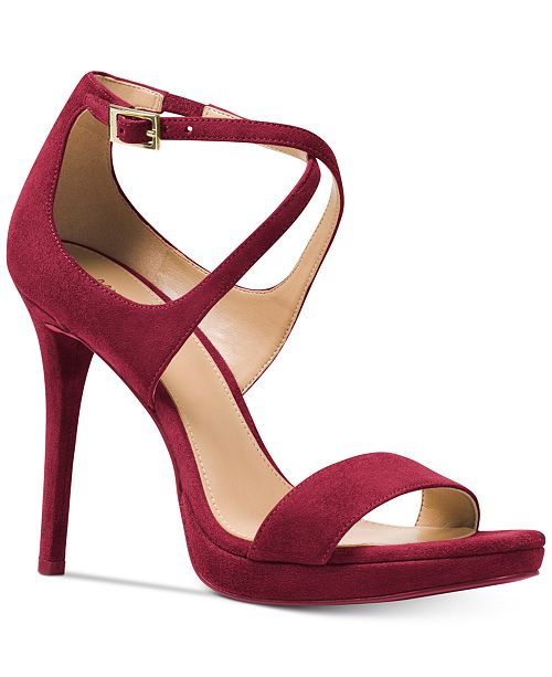 efce3f9c49f8 Michael Kors Faryn Strappy Sandals   Reviews - Sandals   Flip Flops ...