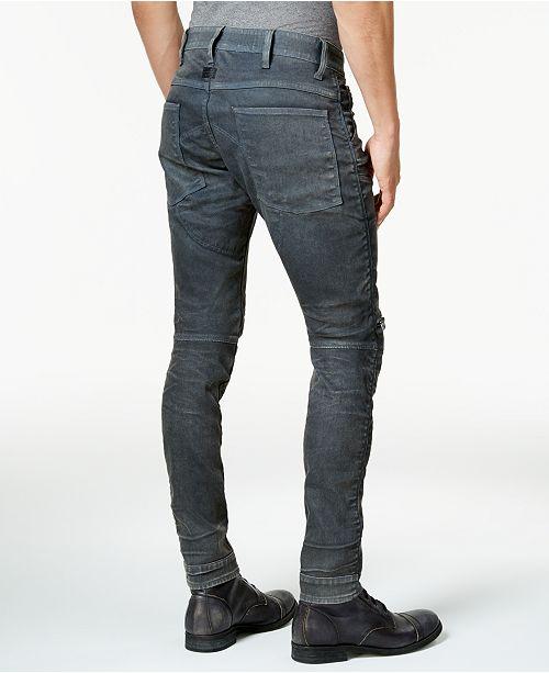 6879f5a0a61092 G-Star Raw Men's 5620 3D Zip-Knee Super Slim-Fit Jeans & Reviews ...