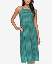 Roxy Juniors' Sparkle Bright Printed Cross-Back Dress