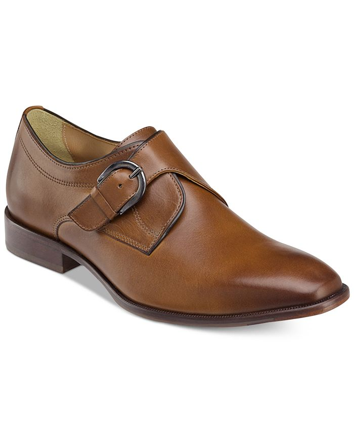 Johnston & Murphy - Men's McClain Monk Strap Slip-on Loafers