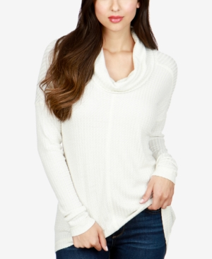 Lucky Brand  COWL-NECK THERMAL TOP