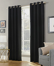 Sun Zero Baxter Theater Grade Extreme Blackout Grommet Curtain Panel Collection