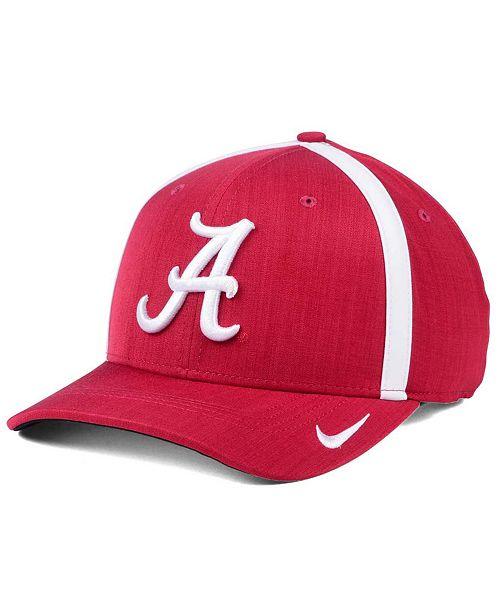 Nike Alabama Crimson Tide Aerobill Sideline Coaches Cap - Sports Fan ... 71699cceb7d