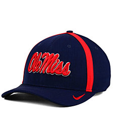 Nike Ole Miss Rebels Aerobill Sideline Coaches Cap