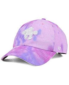 '47 Brand Philadelphia 76ers Pink Tie-Dye CLEAN UP Cap