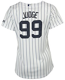 Women's Aaron Judge New York Yankees Cool Base Player Replica Jersey