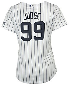 Majestic Women's Aaron Judge New York Yankees Cool Base Player Replica Jersey