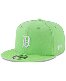 New Era Detroit Tigers Neon Time 9FIFTY Snapback Cap