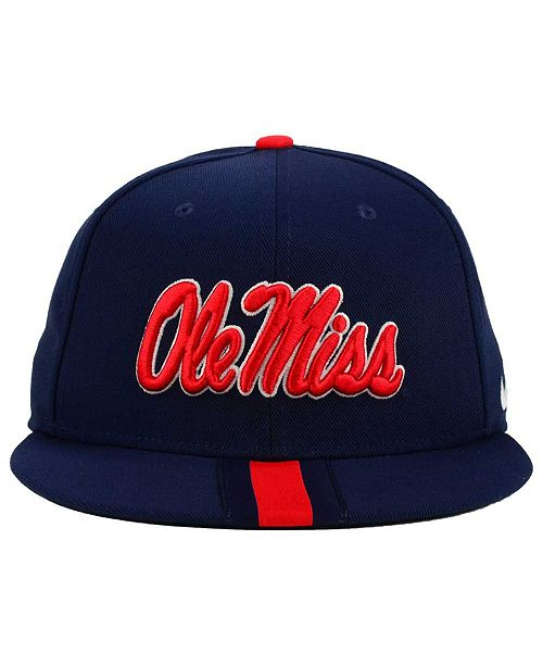 best service ff26d b9197 ... uk nike ole miss rebels sideline true snapback cap sports fan shop by  lids men macys
