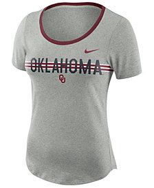 Nike Women's Oklahoma Sooners Tri Blend Slub T-Shirt