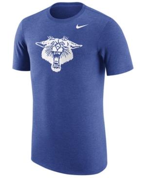 Nike Men's Kentucky Wildcats Vault Logo Tri-Blend T-Shirt