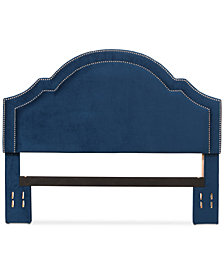 Anastasia Full/Queen Velvet Headboard, Quick Ship