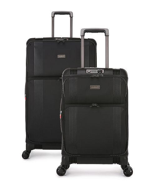 Antler Titus DLX Expandable Spinner Luggage Collection