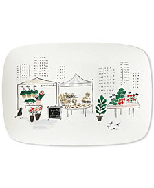 kate spade new york Union Square Accents Oblong Platter