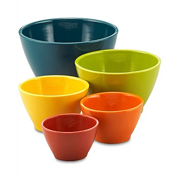 Rachael Ray 5-Pc. Cucina Melamine Nesting Measuring Cups Set