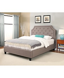 Belle Tufted Platform Bed Collection, Quick Ship