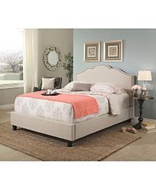 Celeste Upholstered Platform Bed Collection, Quick Ship