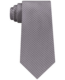 Michael Kors Men's Unsolid Honeycomb Silk Tie