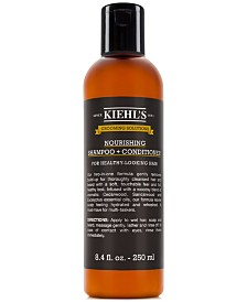 Kiehl's Since 1851 Grooming Solutions Nourishing Shampoo + Conditioner, 8.4-oz.