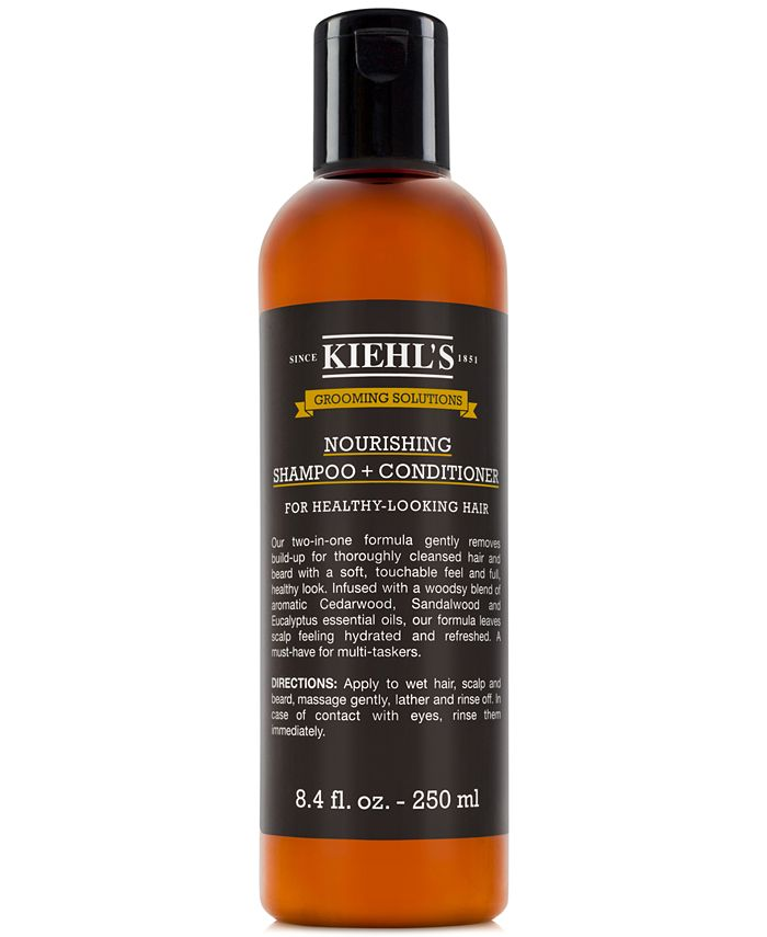Kiehl's Since 1851 - Grooming Solutions Nourishing Shampoo + Conditioner, 8.4-oz.