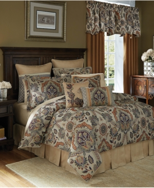 Croscill Callisto 4Pc King Comforter Set Bedding