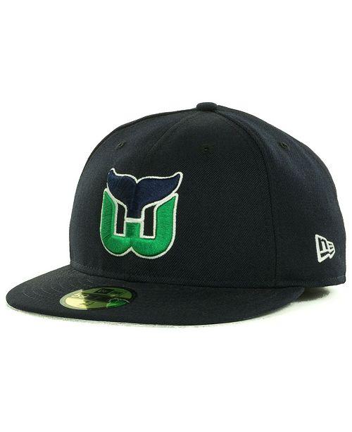 New Era Hartford Whalers Basic 59FIFTY Fitted Cap - Sports Fan Shop ... 96f8b027e