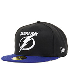 New Era Tampa Bay Lightning Basic 59FIFTY Fitted Cap