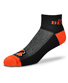 For Bare Feet Cincinnati Bengals The Cuff Ankle Socks