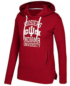 adidas Women's Indiana Hoosiers Mascot Banner Arch Hoodie