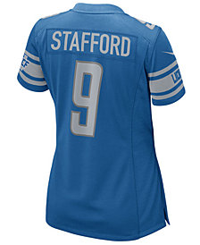 Nike Women's Matthew Stafford Detroit Lions NFL Game Jersey