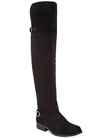 Adarra Wide-Calf Over-The-Knee Boots, Created for Macy's