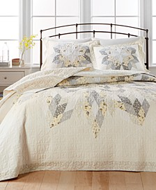 Starburst Bedspread & Sham Collection, Created for Macy's