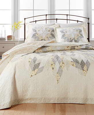 martha stewart collection closeout starburst bedspread sham collection created for macy 39 s. Black Bedroom Furniture Sets. Home Design Ideas