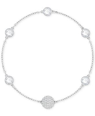 Remix Collection Halo Crystal & Fireball Link Bracelet by Swarovski
