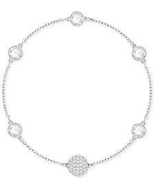 Swarovski Remix Collection Halo Crystal & Fireball Link Bracelet