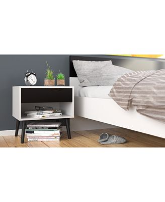 furniture sorena nightstand, quick ship - furniture - macy's Nightstand Images