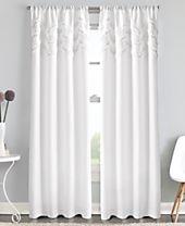 Curtainworks Chevron Ruffle Rod Pocket Window Panel Collection