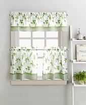 """Curtainworks Herb Garden 36"""" Tier & Valance Set"""