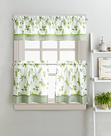 "Curtainworks Herb Garden 36"" Tier & Valance Set"