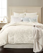 CLOSEOUT! Martha Stewart Collection Feather Breeze 14-Pc. Queen Comforter Set, Created for Macy's