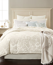 CLOSEOUT! Martha Stewart Collection Feather Breeze 14-Pc. California King Comforter Set, Created for Macy's