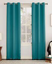 Sun Zero Gaylen Blackout Grommet Curtain Collection