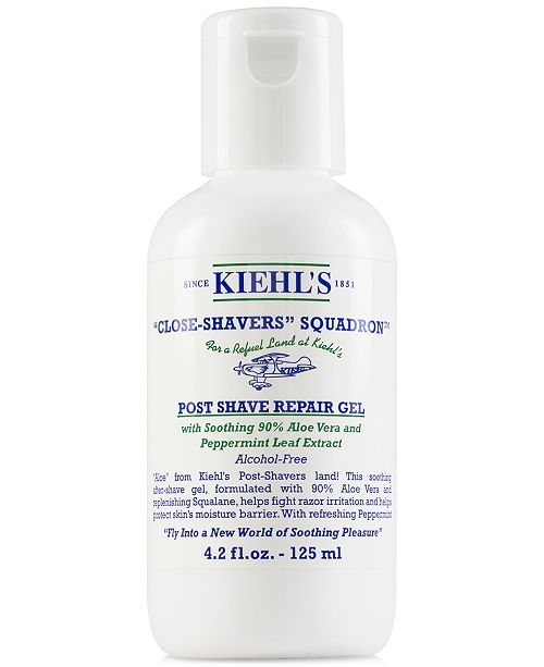 Kiehl's Since 1851 Close-Shavers Squadron Post Shave Repair Gel, 4.2-oz.