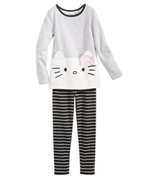 Hello Kitty 2Pc Tunic  Leggings Set Little Girls (46X)