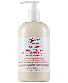 Kiehl's Since 1851 Superbly Restorative Argan Body Lotion, 16-oz.