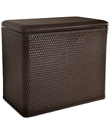 Lamont Home Carter Bench Hamper