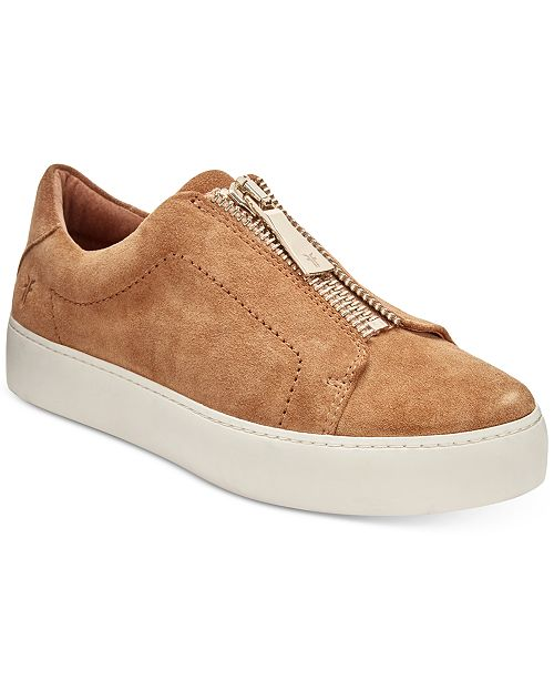 Frye Women's Lena Zipper Sneakers Women's Shoes MS3J937o5