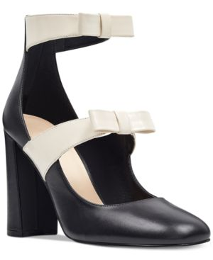 Nine West Dannell Block-Heel Dress Pumps Women