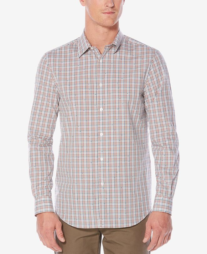 Perry Ellis Men's Edmundo Twill Shirt